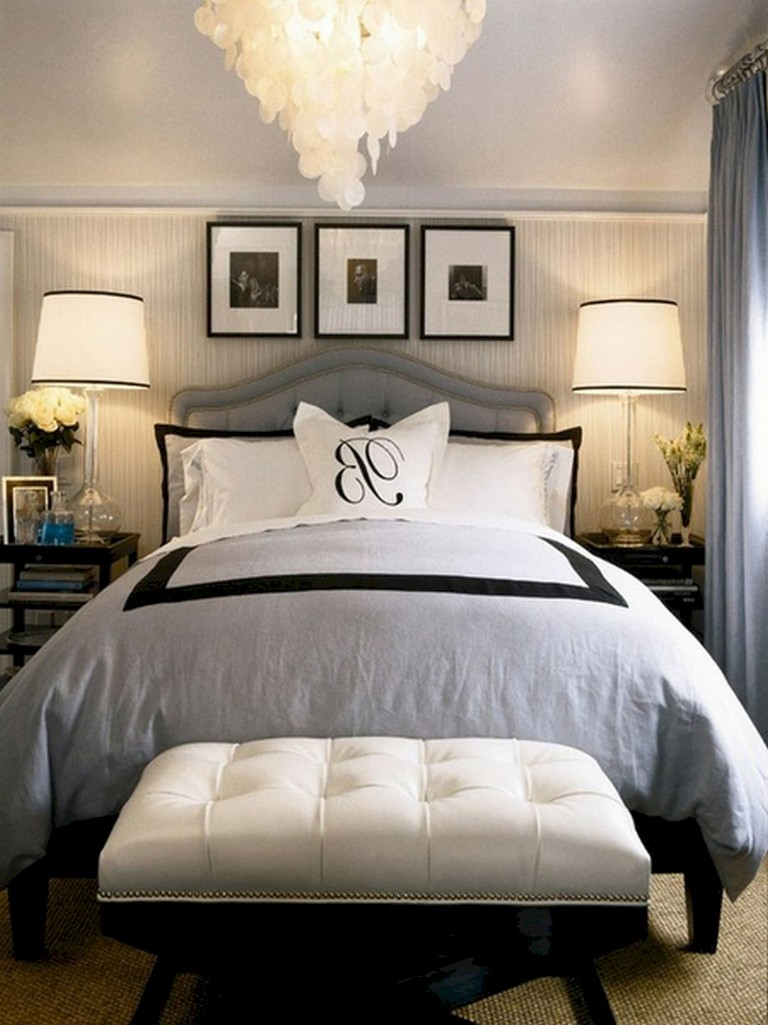 Whether you add a bold wallpaper like this one from raveinteriordesign or you're hunting for other ways to create the perfect guest room decor,. 37+ Comfy Small Master Bedroom Ideas