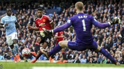Rashford gol derby Premier League
