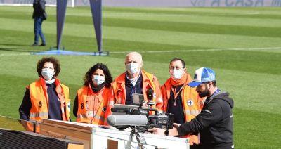operatori sanitari tv serie a coronavirus