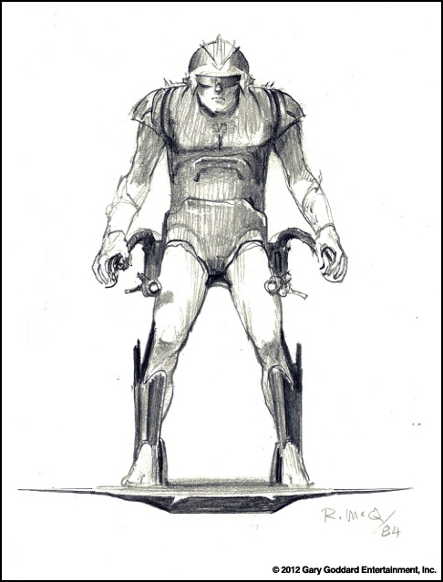 Masters of the Universe movie 1987 Ralph McQuarrie