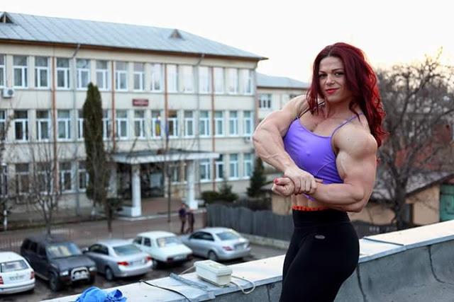 Voglio mostrare i muscoli al mondo