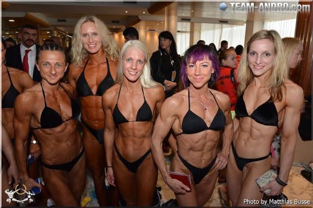 Bikini e muscoli