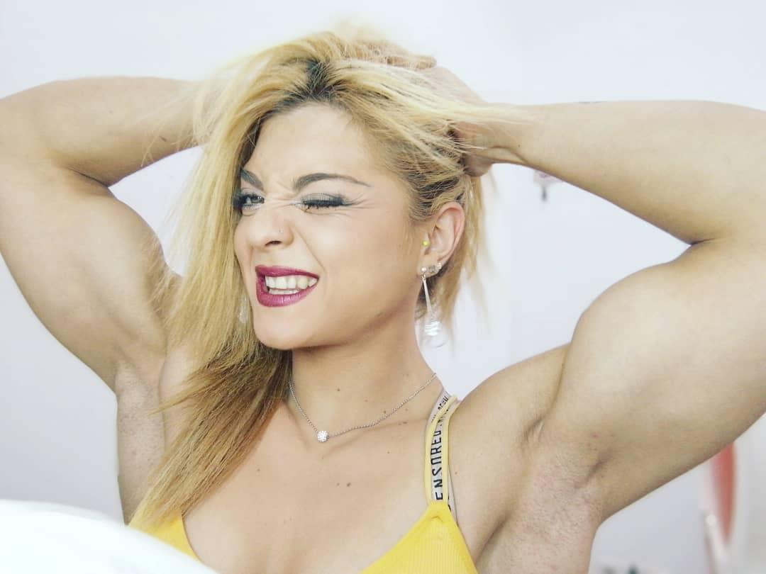 Che bicipiti Cristina Ruiz