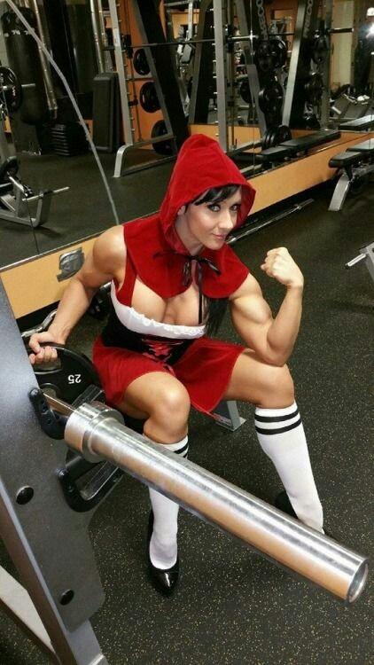 Cappuccetto Rosso si allena