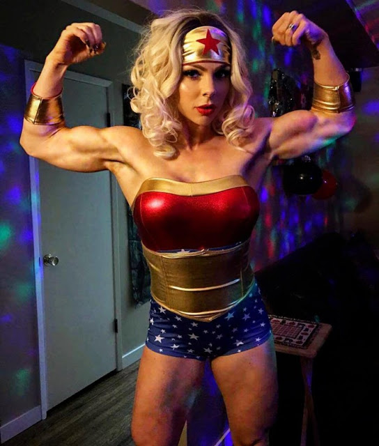 I bicipiti di Wonder Woman