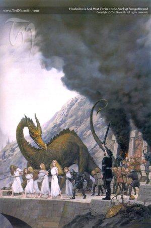 """Silmarillion"" - Smok Glaurung"
