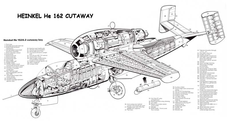 Heinkel He-162A