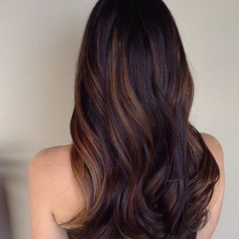Ravishing Red Highlights - Highlights For Dark Brown Hair