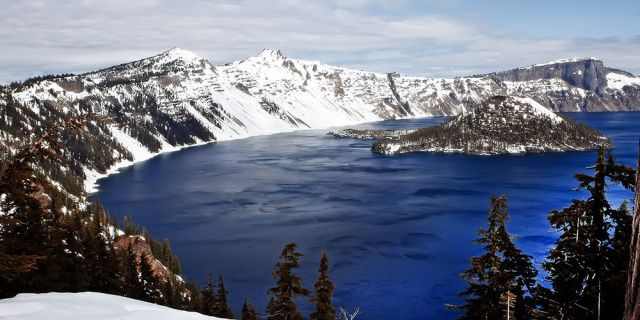 Crater Lake - clearest waters