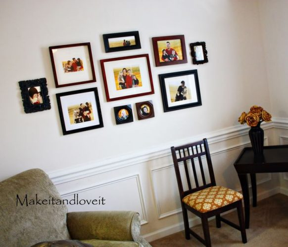 Photo collage - creative gallery wall ideas