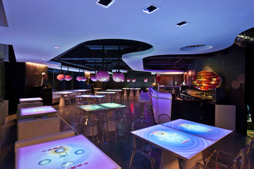 MOJO iCuisine Interactive Restaurant - Beautiful Restaurants Coffee Shops Interior Design