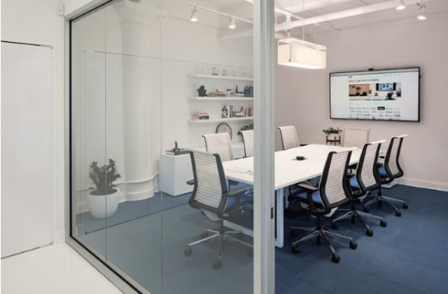 Elegance at small scale - modern conference room design ideas