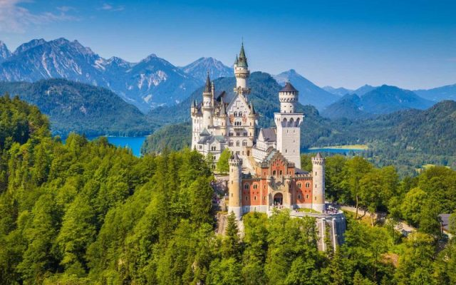 Neuschwanstein Castle - most beautiful castles