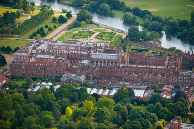 Hampton Court Palace - most beautiful castles