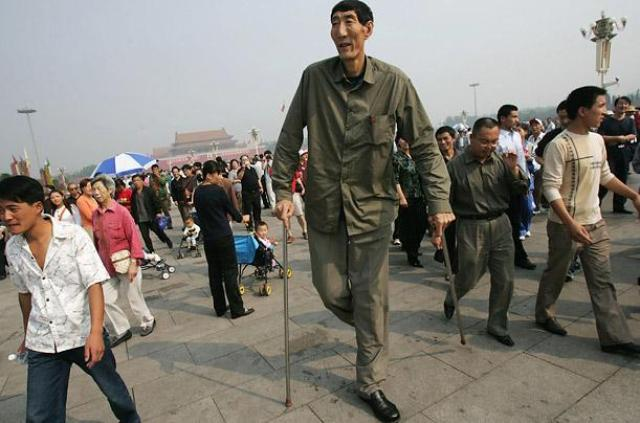 Bao Xishun - tallest men