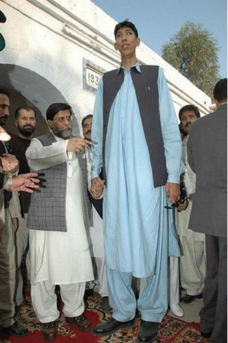 Ajaz Ahmed - tallest men