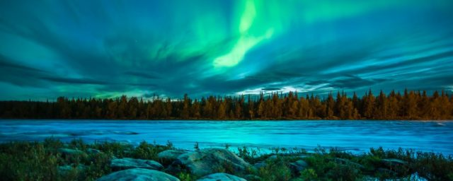 Finland - destinations for aurora borealis or northern lights