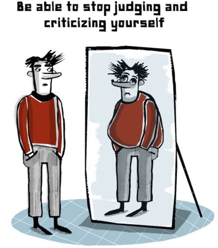 Stop attacking yourself - get yourself out of depression