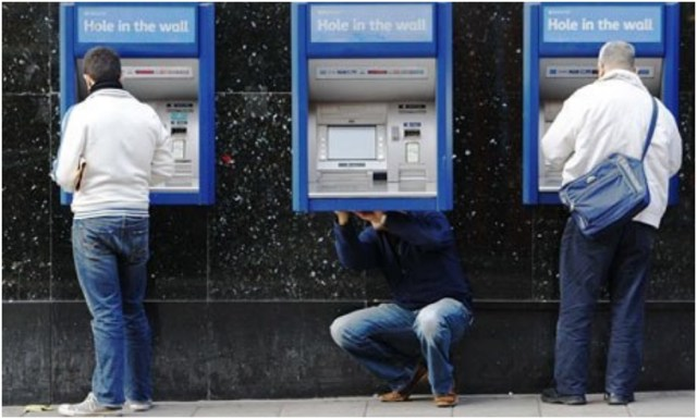 As per President Donald Trump: He's never used an ATM