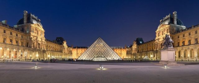 Louvre Paris, France - art museum in Europe