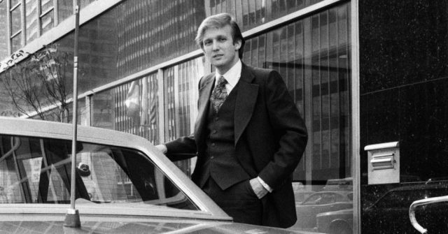 At the age of 27, Trump was the owner of 14,000 apartments