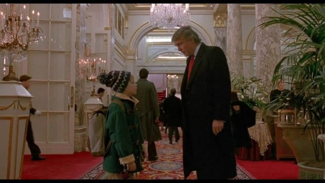Donald played a Cameo in Home Alone 2: Lost in New York