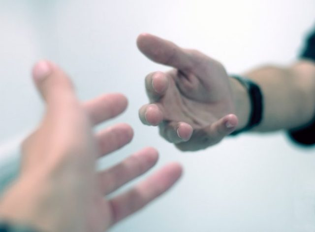 Try to help someone - things to do when you're feeling angry