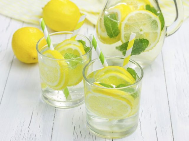 Lemon Water - Foods to Cure a Hangover