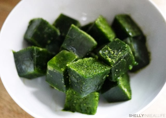 Kale Cubes - Healthy Breakfasts for Busy Mornings