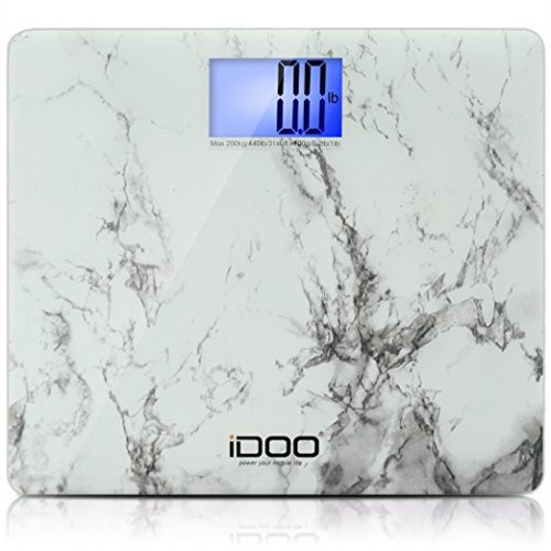 iDOO Ultra-Wide Digital Bathroom Scale - Digital Bathroom Scale