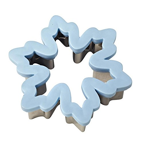 Wilton Snowflake Comfort Grip Cutter - Christmas Cookie Cutters