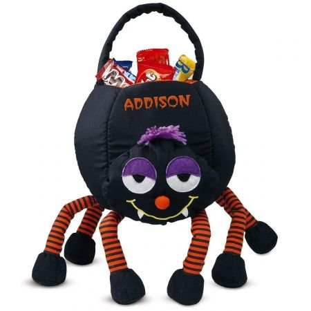 Lillian Vernon Spider Treat Basket - Halloween Treat Bags