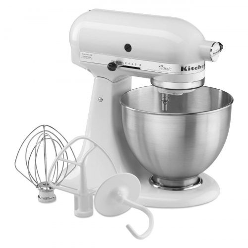 KitchenAid K45SSWH K45SS Classic - Stand Mixers