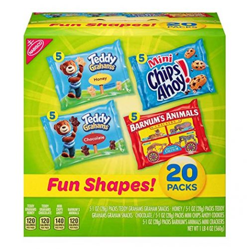 Nabisco Fun Shapes Cookie & Cracker Mix - Delicious Snacks For Kids