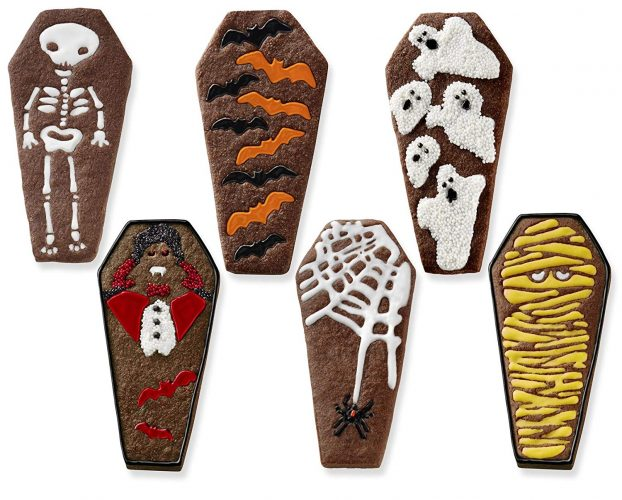 Tovolo Coffin Cookie Cutters