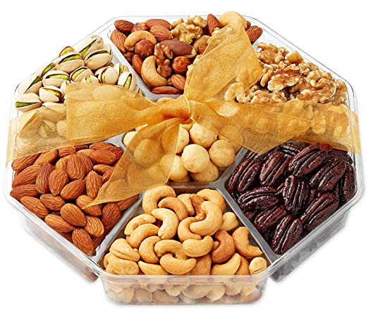 Holiday Nuts Gift Basket - Roasted Nuts