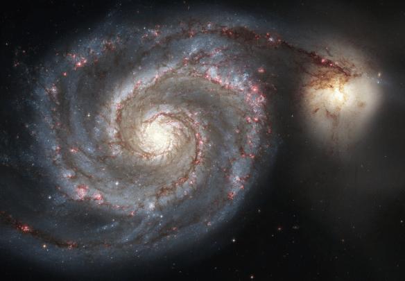 The Whirlpool Galaxy (Spiral Galaxy M51)