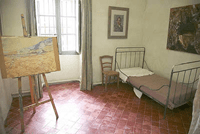 Van Gogh's room at Saint-Paul Asylum