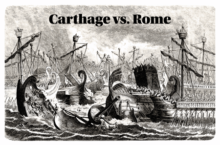 Carthage vs Rome #fantasticdrivel