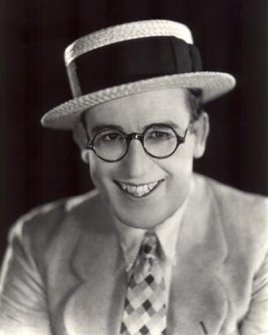 Harold Lloyd, silent film star and inspiration for Cary Grant's character David Huxley in Bringing Up Baby (1938)