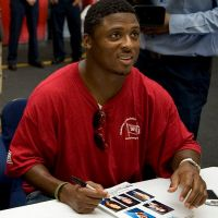 Former NFL player Warrick Dunn raised his five siblings while attending college and then playing in the NFL, after his mom, a police officer, was shot dead while he was in high school. He built 145 houses for single moms, and also met and forgave the man who was convicted of killing his mother.