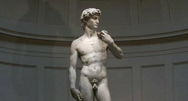 ミケランジェロダビデ像