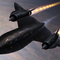 If the SR-71 was attacked by surface-to-air missiles, it simply flew higher, faster, and in a slightly different direction to outrun them.
