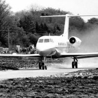 In 1983 a Mexican pilot crashed landed in a small town in Ireland and the whole town came together to build a temporary runway for him to take off again and continue his flight.