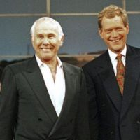When former 'Tonight Show' host Johnny Carson died in 2005, 'Late Show' host David Letterman recited a comedic monologue at the beginning of the show, revealing later that every joke had been written by Carson, who had been sending in one or two jokes a week during his retirement