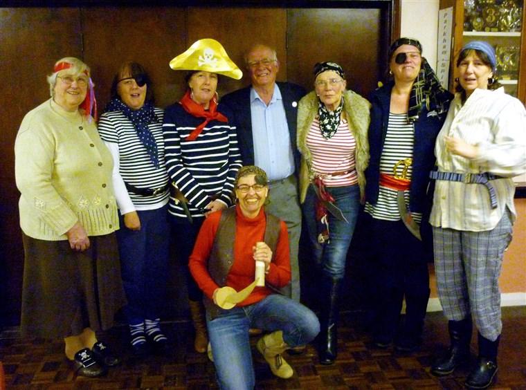 Ladies of Parkham Women's Institute Pirate Night