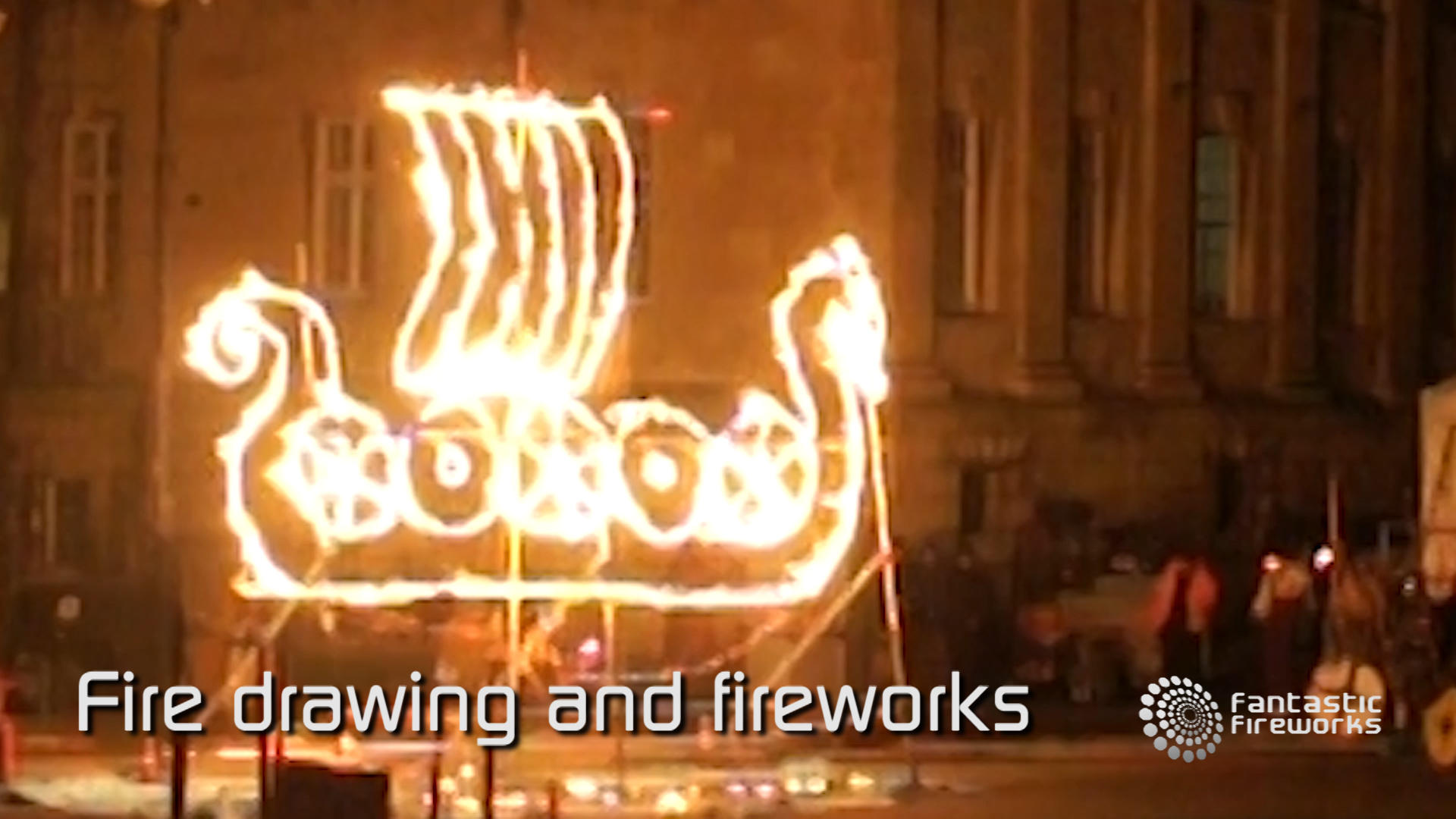 Professional Fireworks Displays | Fire Drawing