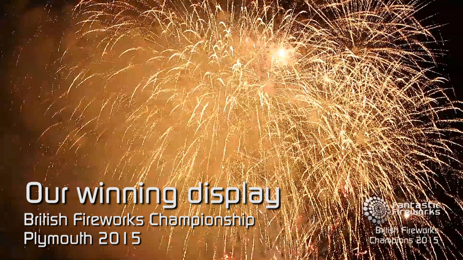 Professional Fireworks Displays | British Fireworks Championship