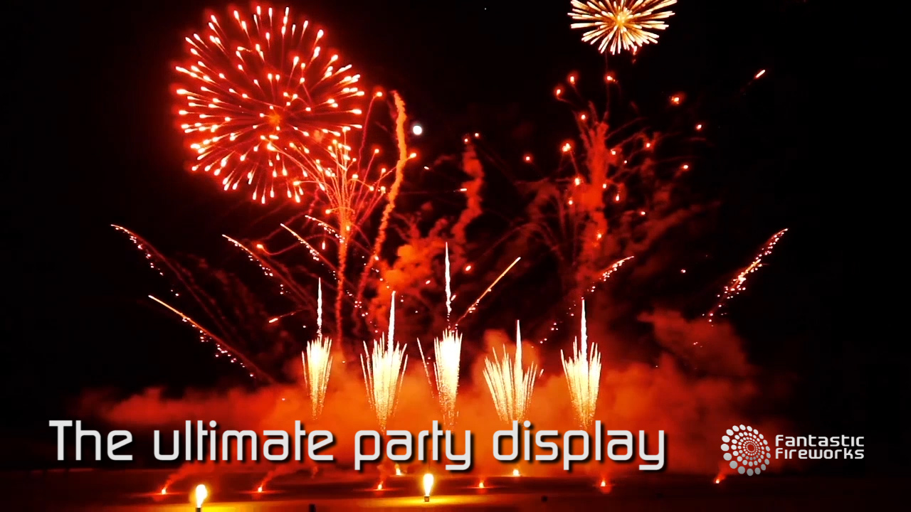 The ultimate party fireworks display