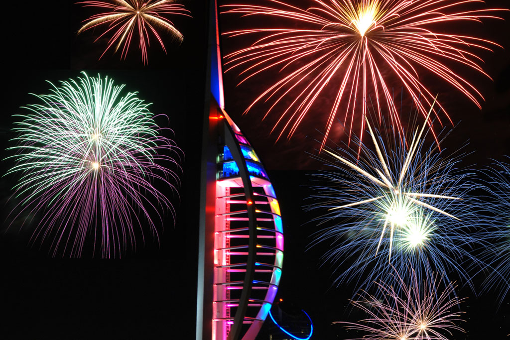 Professional Fireworks Displays | Gunwharf Quays